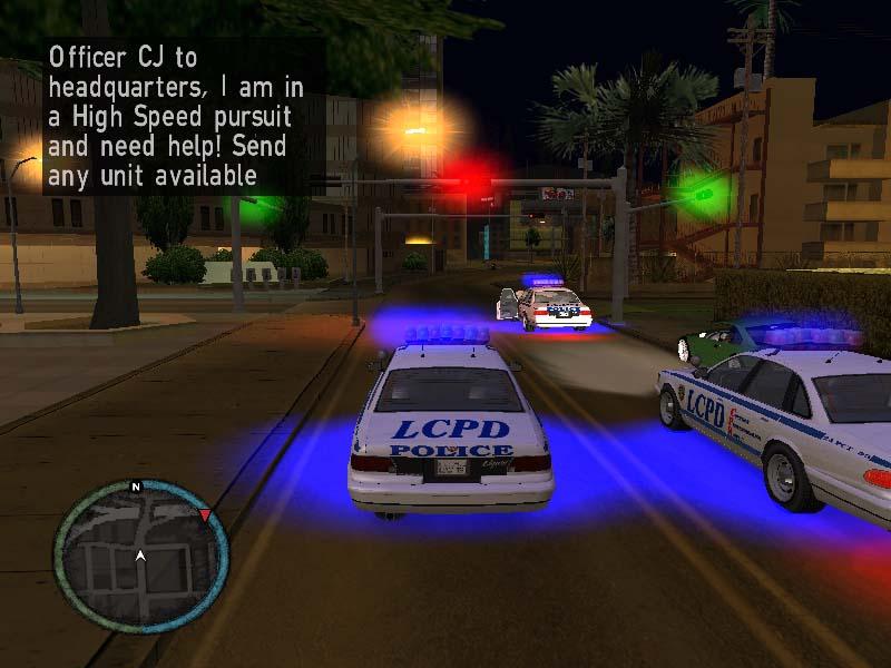 download gta iv default police mod
