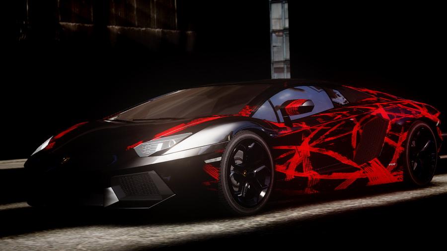Lamborghini Aventador Black And Red Www Pixshark Com