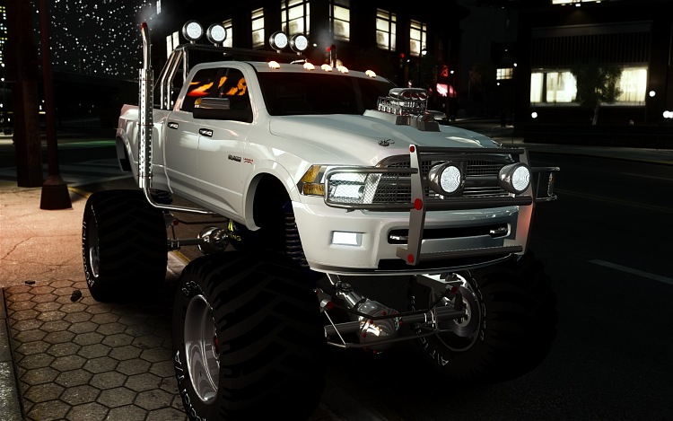 Ddd M X Ubba on Dodge Ram 3500 Engine