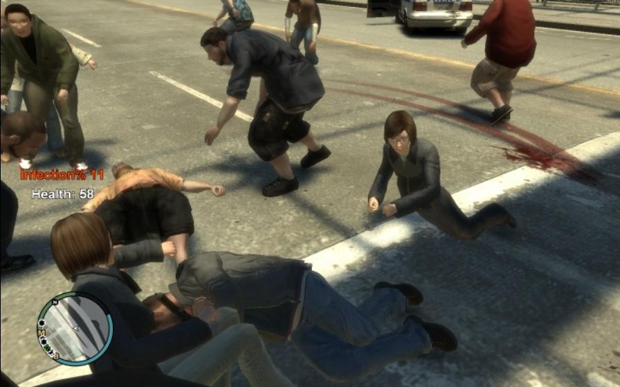 gta iv zombies cheat