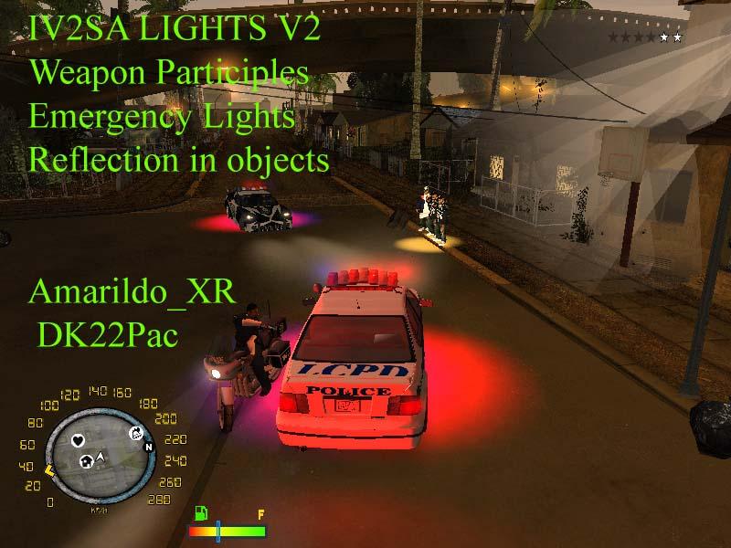 Samp Cleo Light Mod - sevenliberty