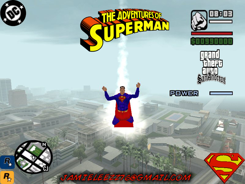 download superman mod for gta vice city pc