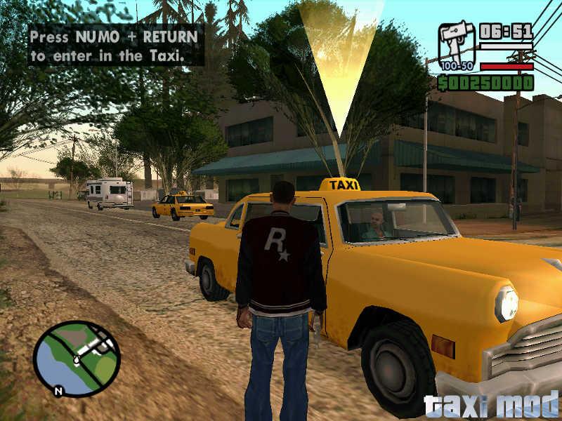 скачать мод на гта сан андреас на такси - фото 2