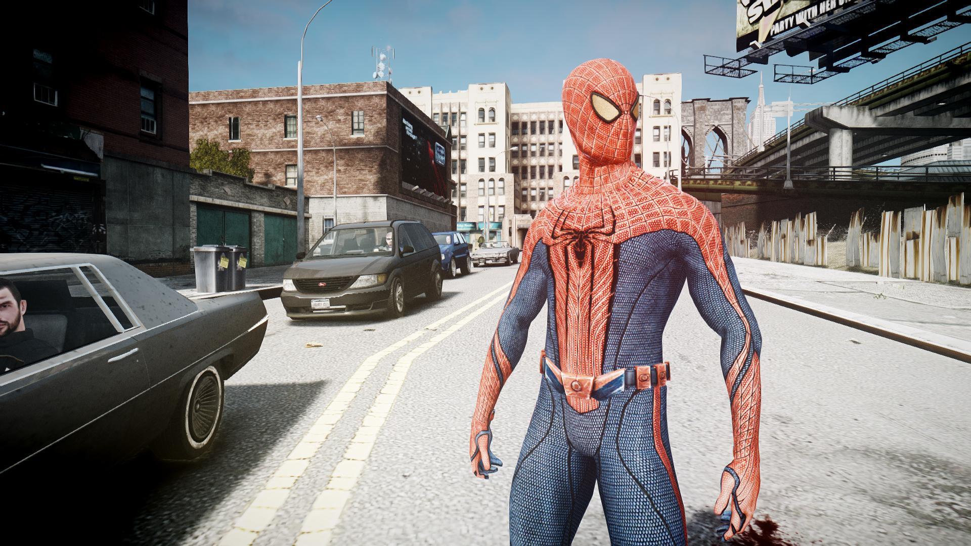gta san andreas amazing spider man mod download