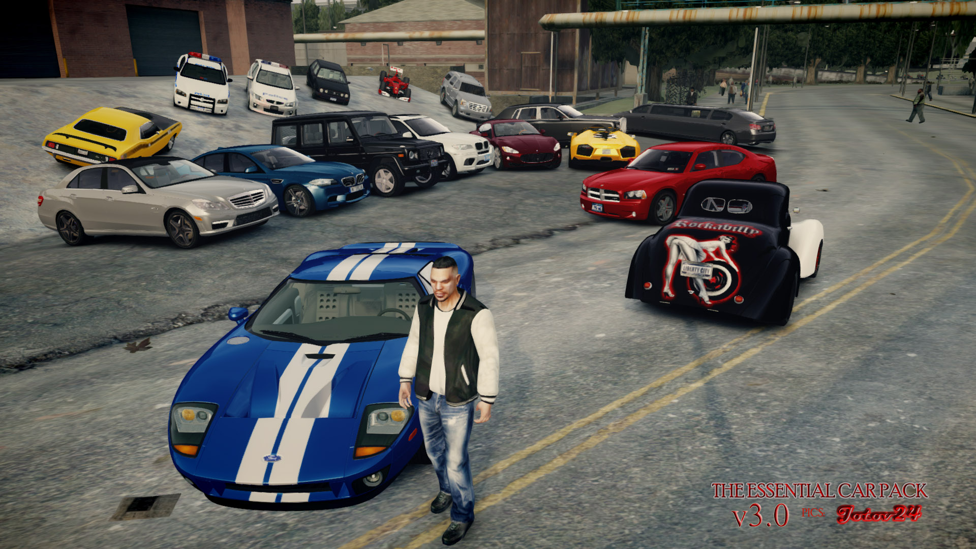 Gta 4 car packs mod | Download GTA IV Ultimate Vehicle Pack