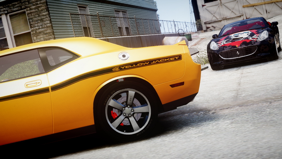 Dodge Challenger Mods >> GTA Gaming Archive