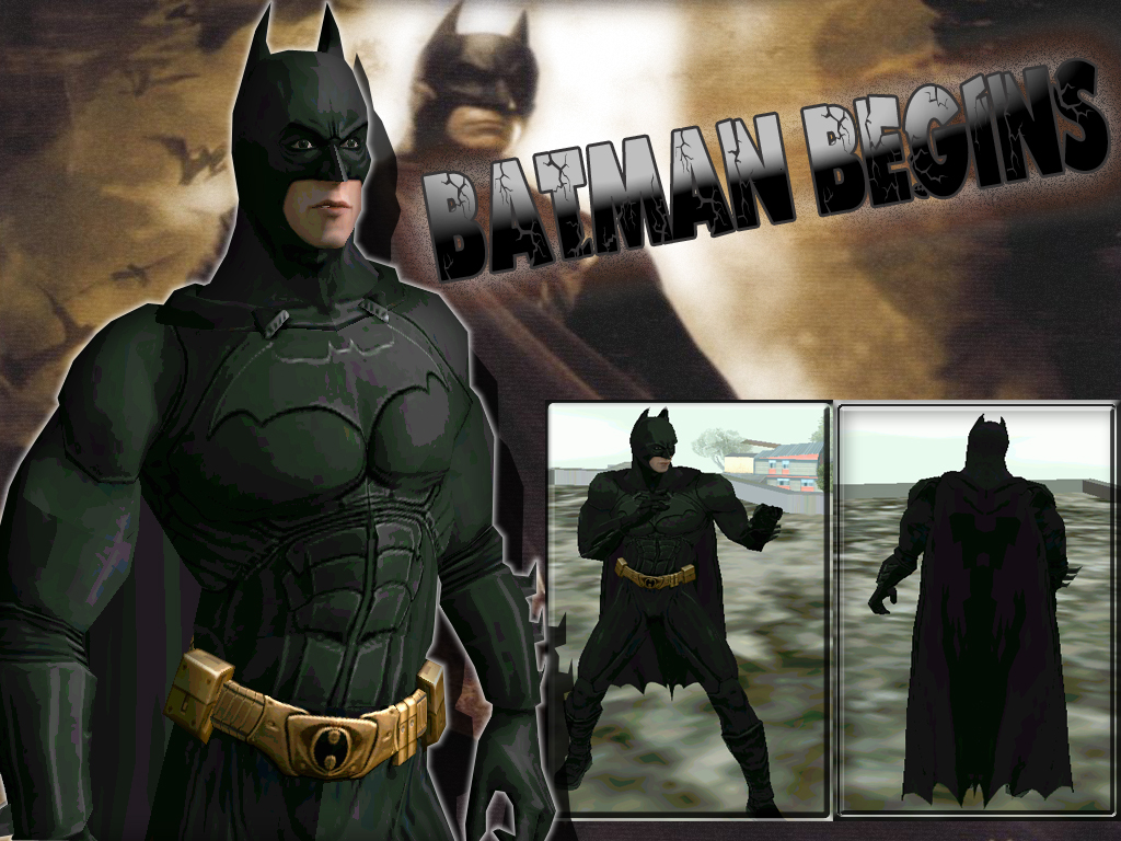Batman Skin Pack - Part 2 & GTA Gaming Archive