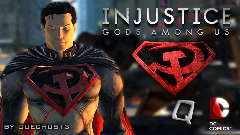 red son superman injustice wwwpixsharkcom images