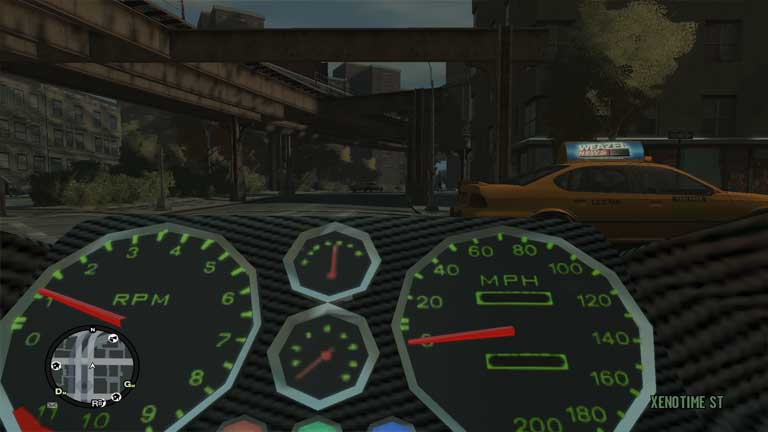 san andreas first person driving mod