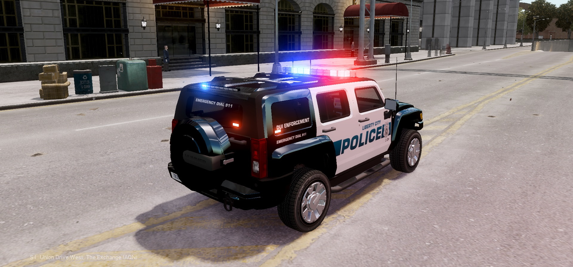 Gta gaming archive 2007 hummer h3x lc police edition vanachro Images