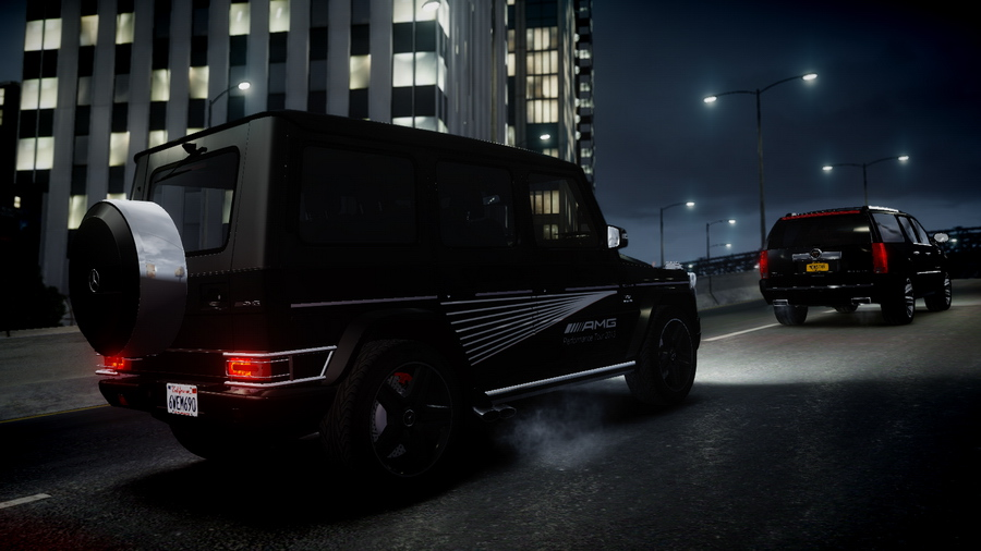 made by outsid3r4 for smokey8808s 2013 mercedes benz g65 amg contains black and white version dont edit dont steal dont use on other mods