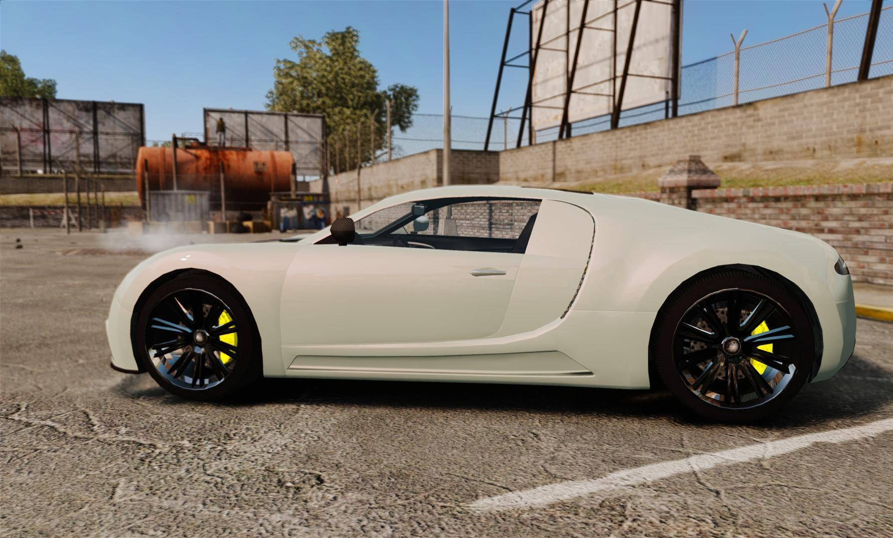 modern bugatti veyron in gta v noisiestpassenger. Black Bedroom Furniture Sets. Home Design Ideas