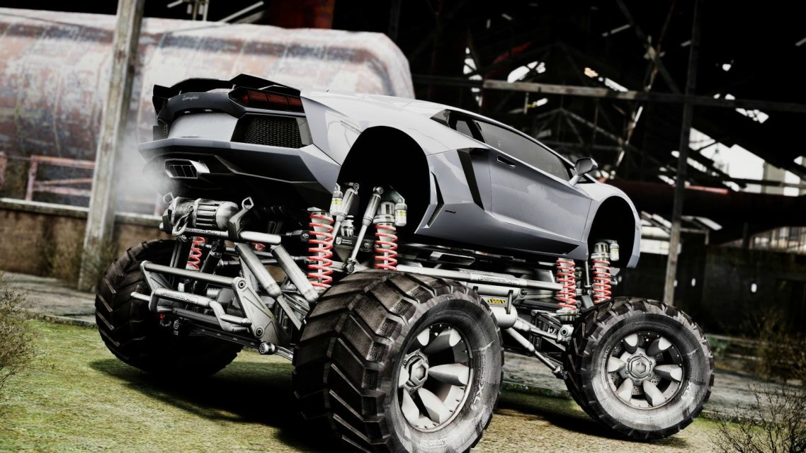 Monster Truck Lamborghini Collection 9 Wallpapers