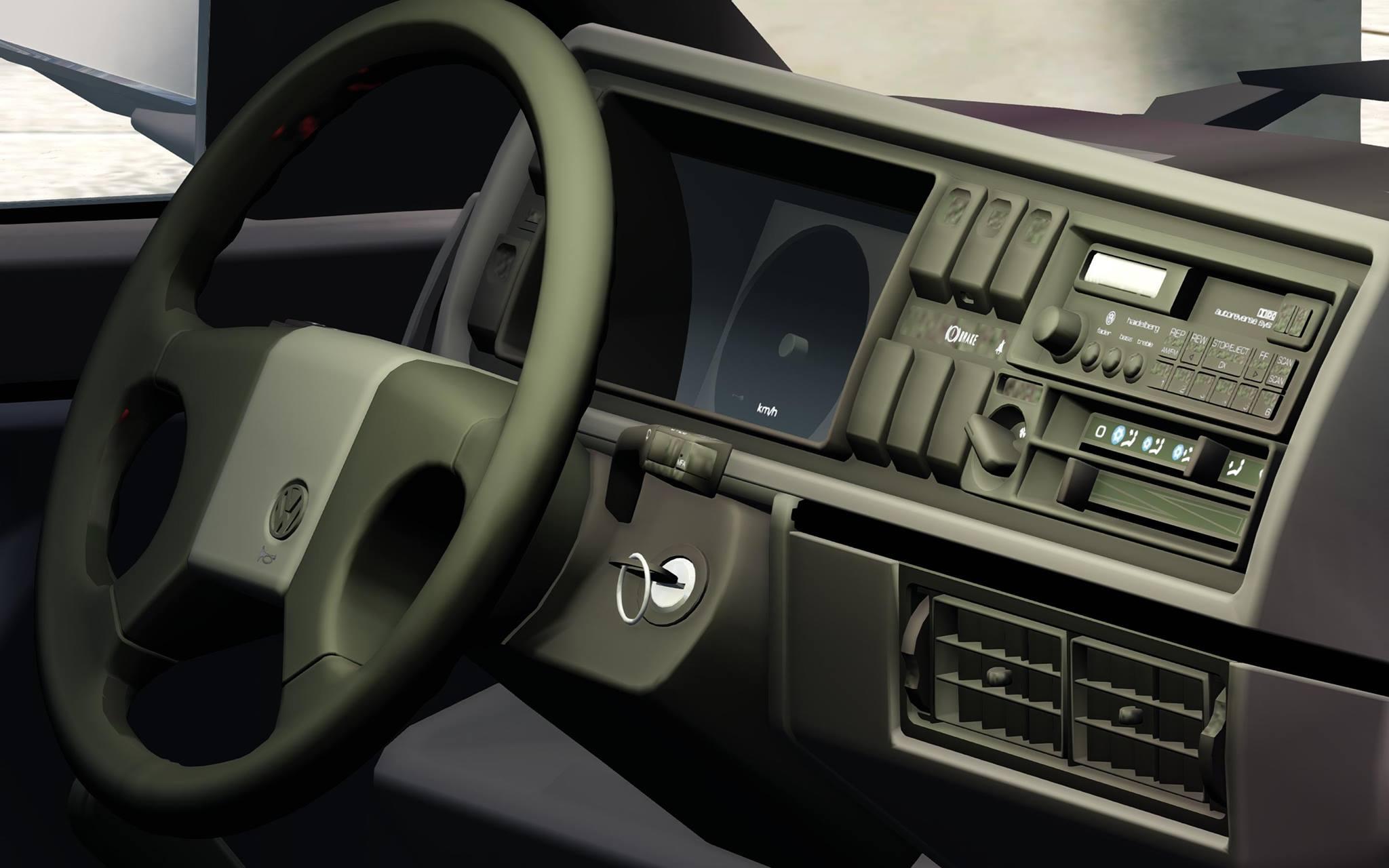 vw golf mk2 interior mods