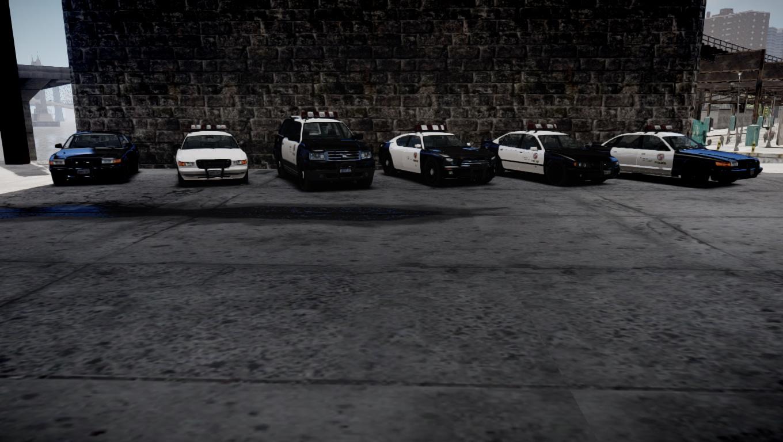 gta sa police car pack
