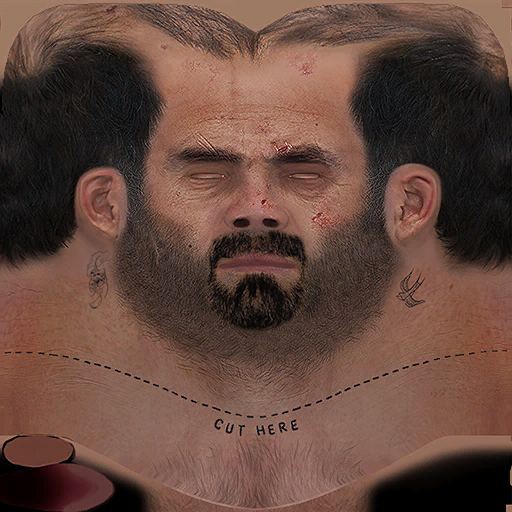 Grand Theft Auto San Andreas Face Paint