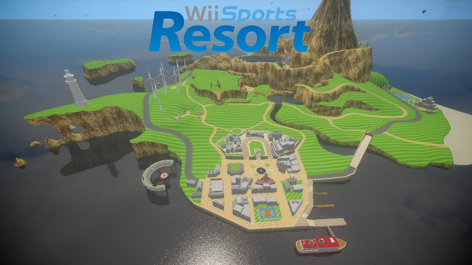 Wii Resort Private Island