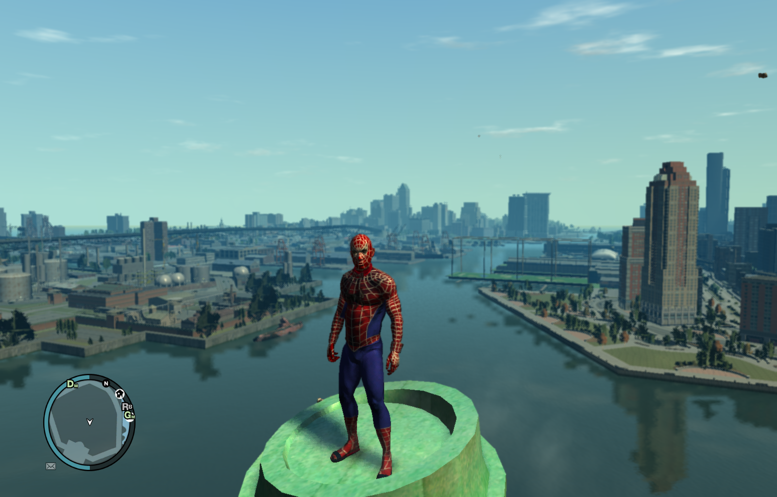gta 4 spiderman mod game download