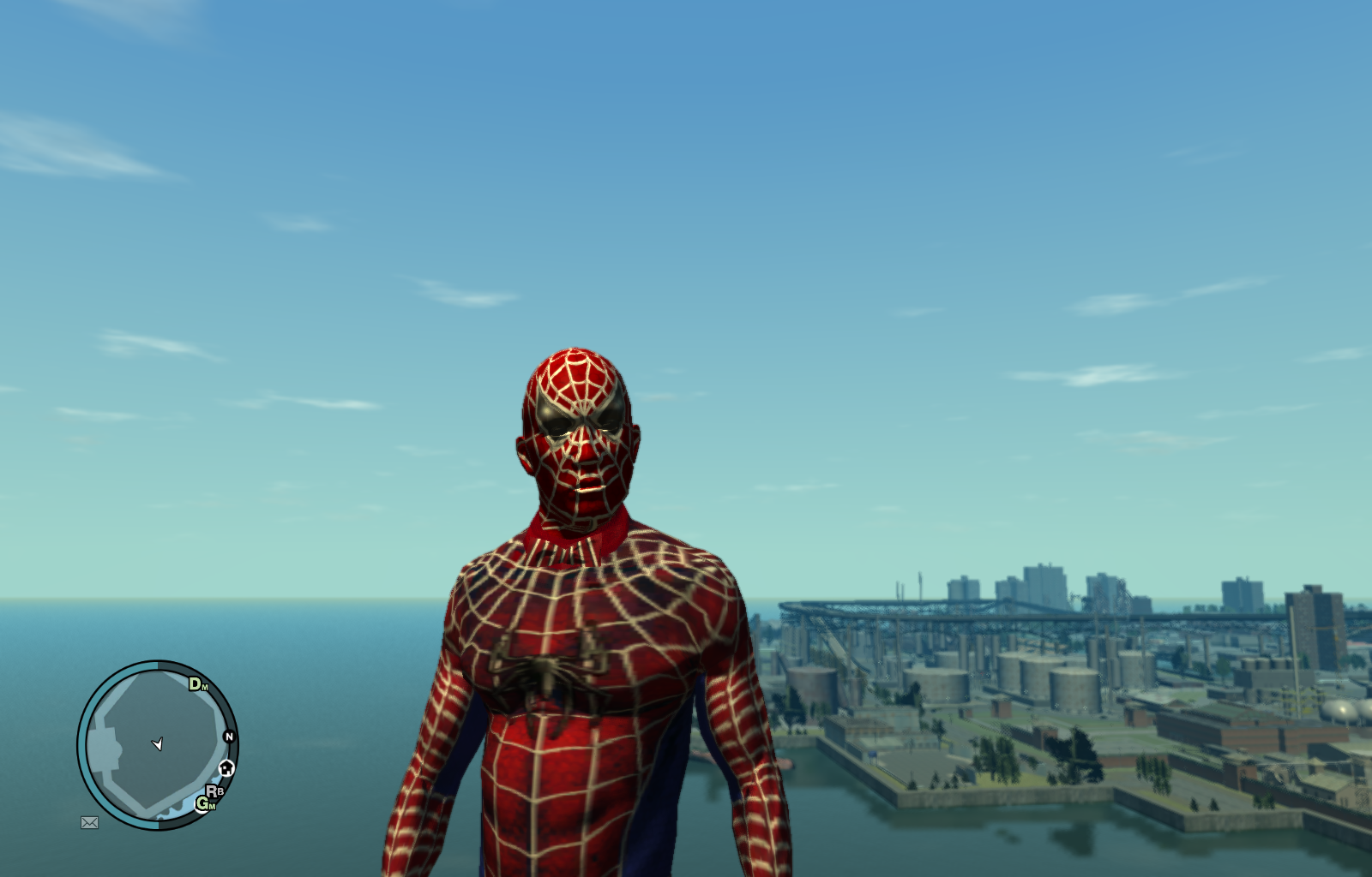 Гта 4 мод Человек Паук