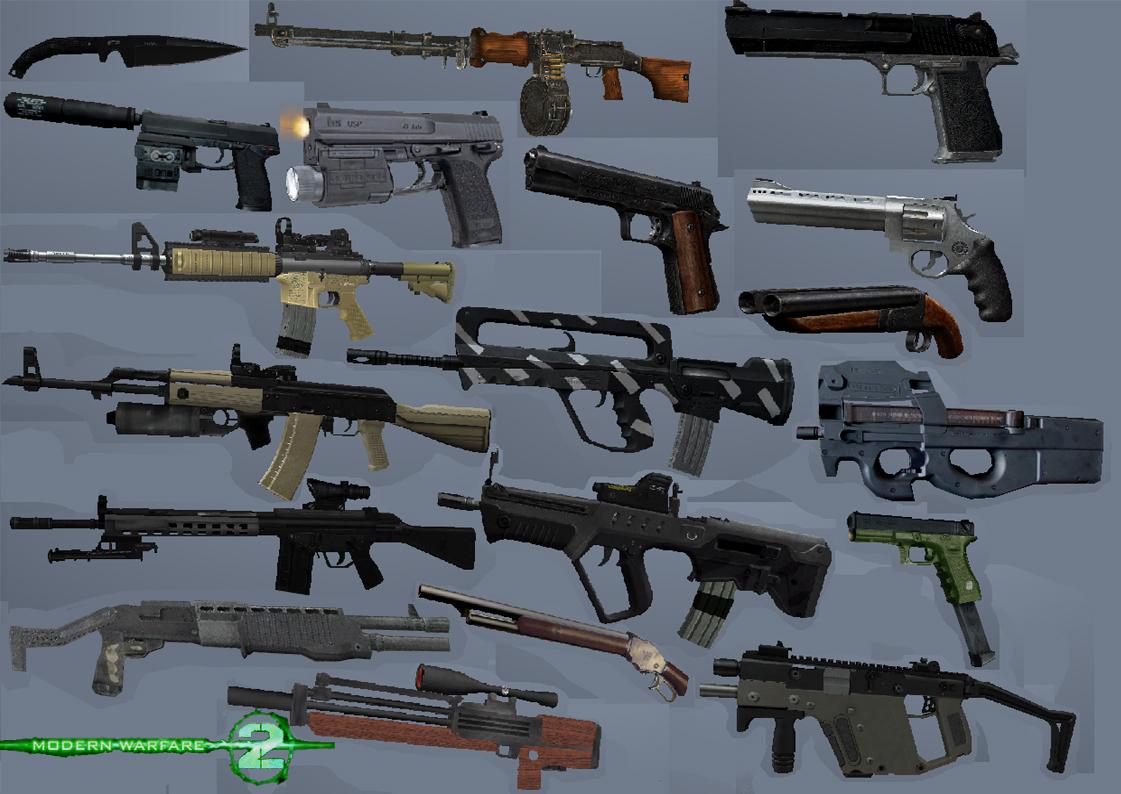 Mw2 Pistols
