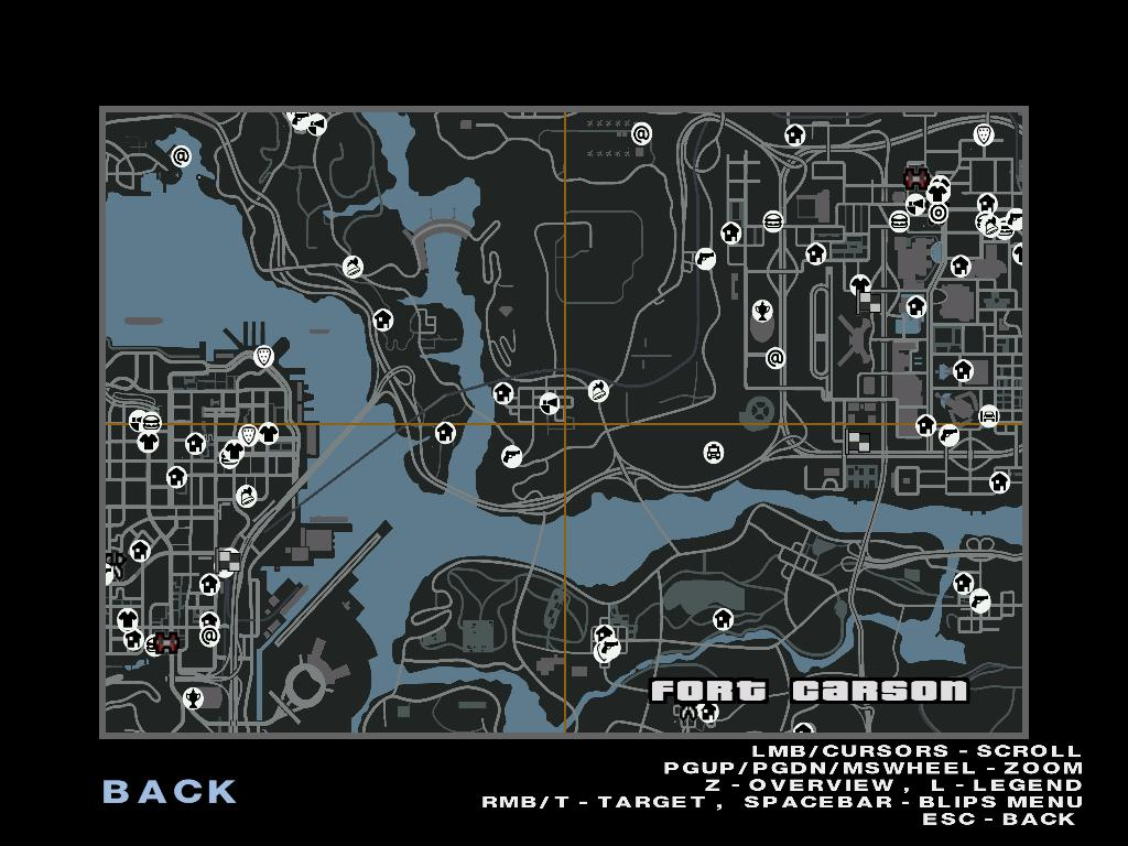 Gta 4 Karte.Gta Gaming Archive