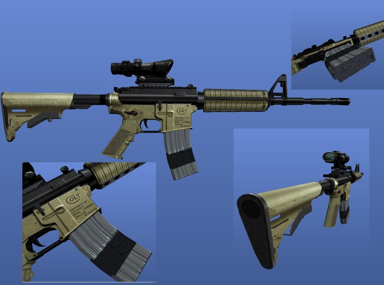 Call of duty modern warfare 2 gun - Call Of Duty Modern Warfare 2 M4a1 Scoped V2