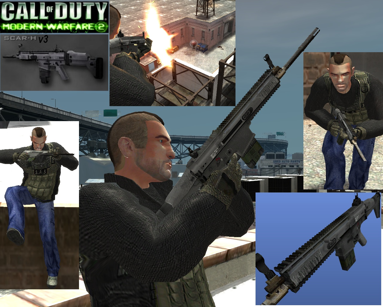 Call of duty modern warfare 2 gun -  Call Of Duty Modern Warfare 2 Scar H V3 New Textures From Folder And Open Sparkiv And Replace W_m4 Wtd In Pc Models Cdimages Weapons Img 5